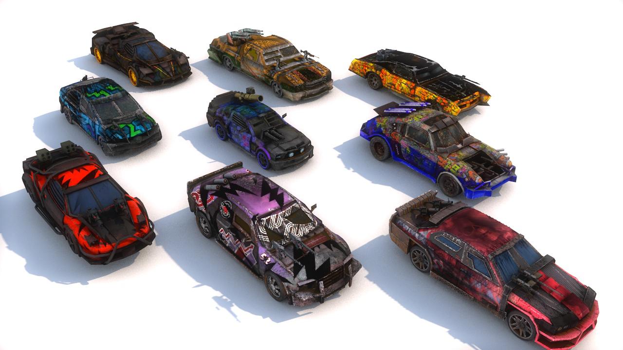 death race cars