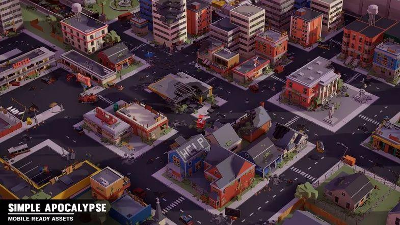 Simple Apocalypse - Cartoon Assets介绍
