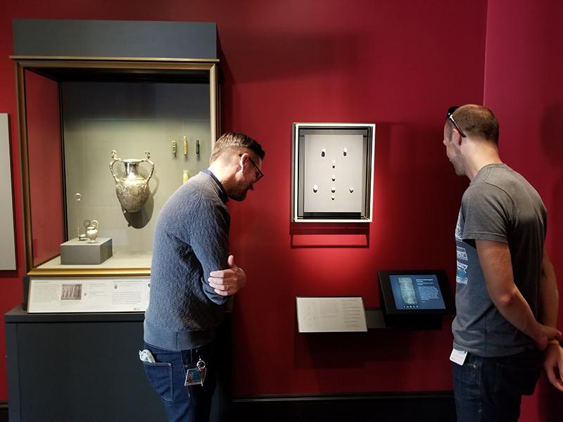 J. Paul Getty Museum - Digital Label System
