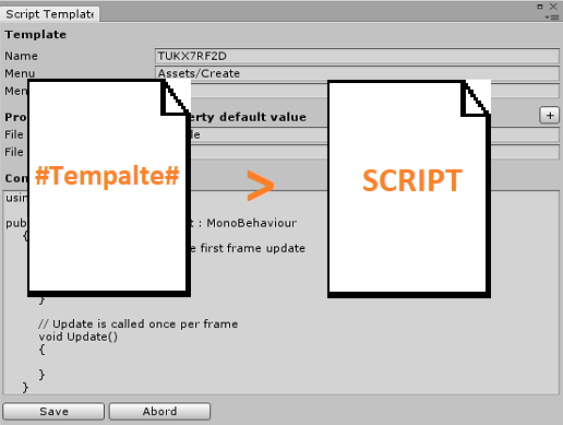 Script Template Manager