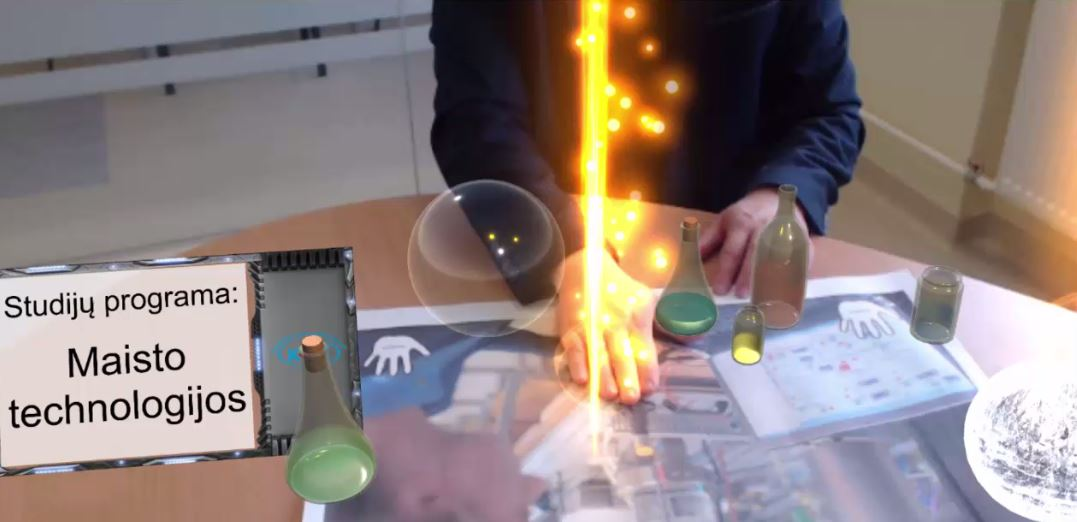 Augmented Reality Promotional App