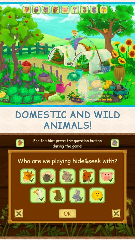 Screenshot 3: Hide and Seek on Farm