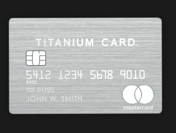 Mastercard Titanium Card survey