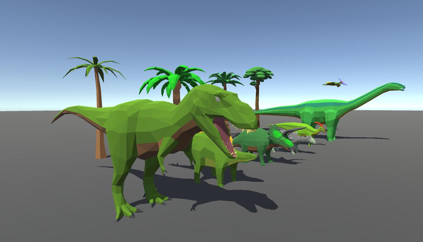 Pangea Ultima... Dinosaurs!