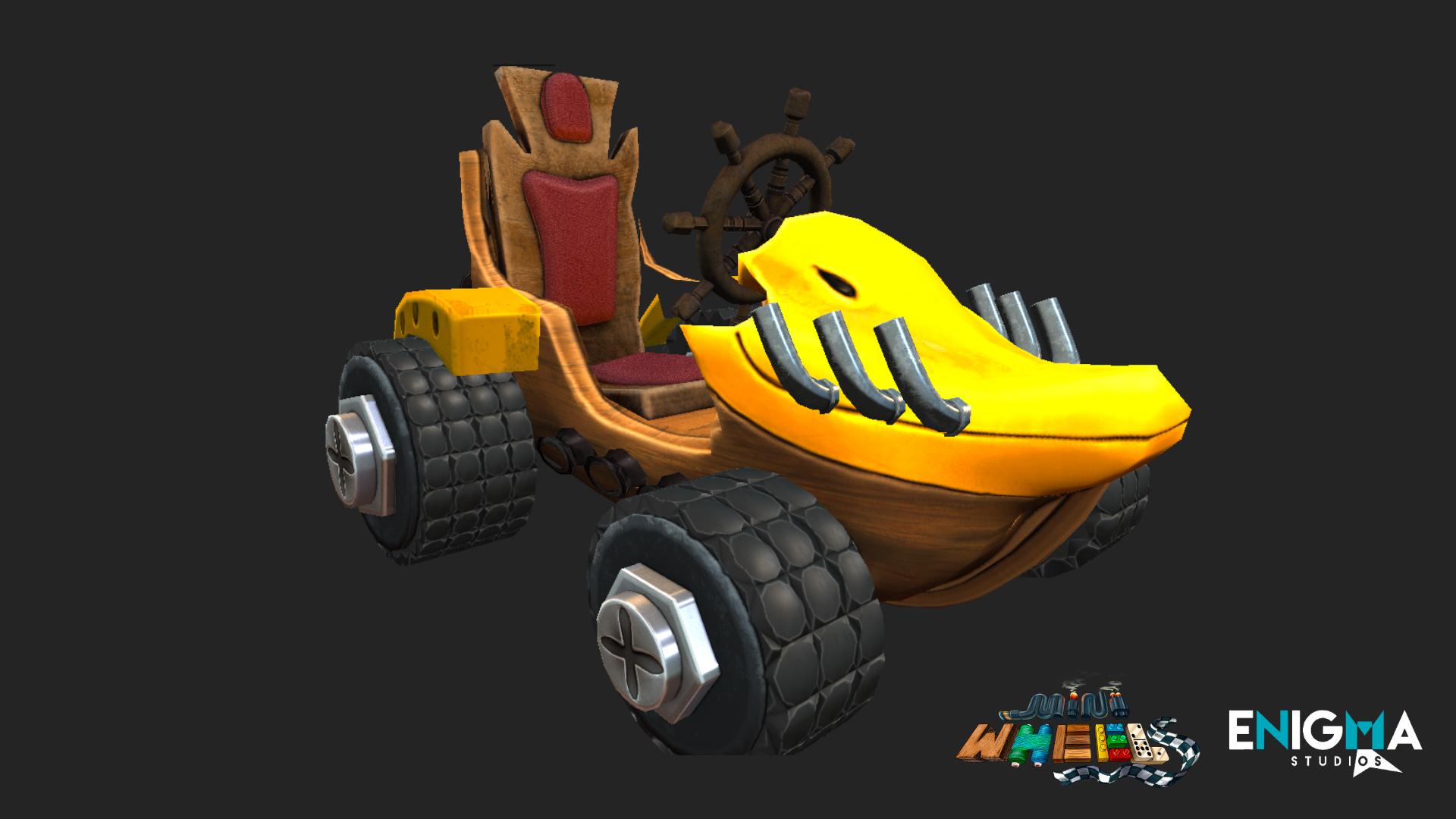 Mini Wheels - Dr. Quack´s car
