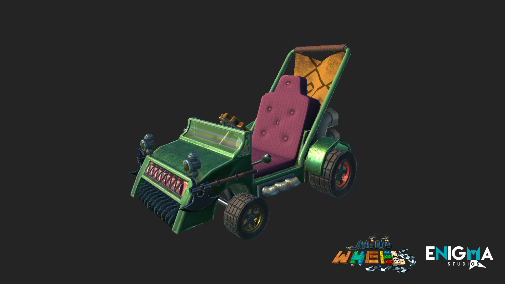 Mini Wheels - Gnome car texture
