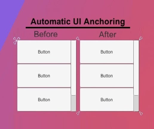 Automatic UI Anchoring For Unity 3D