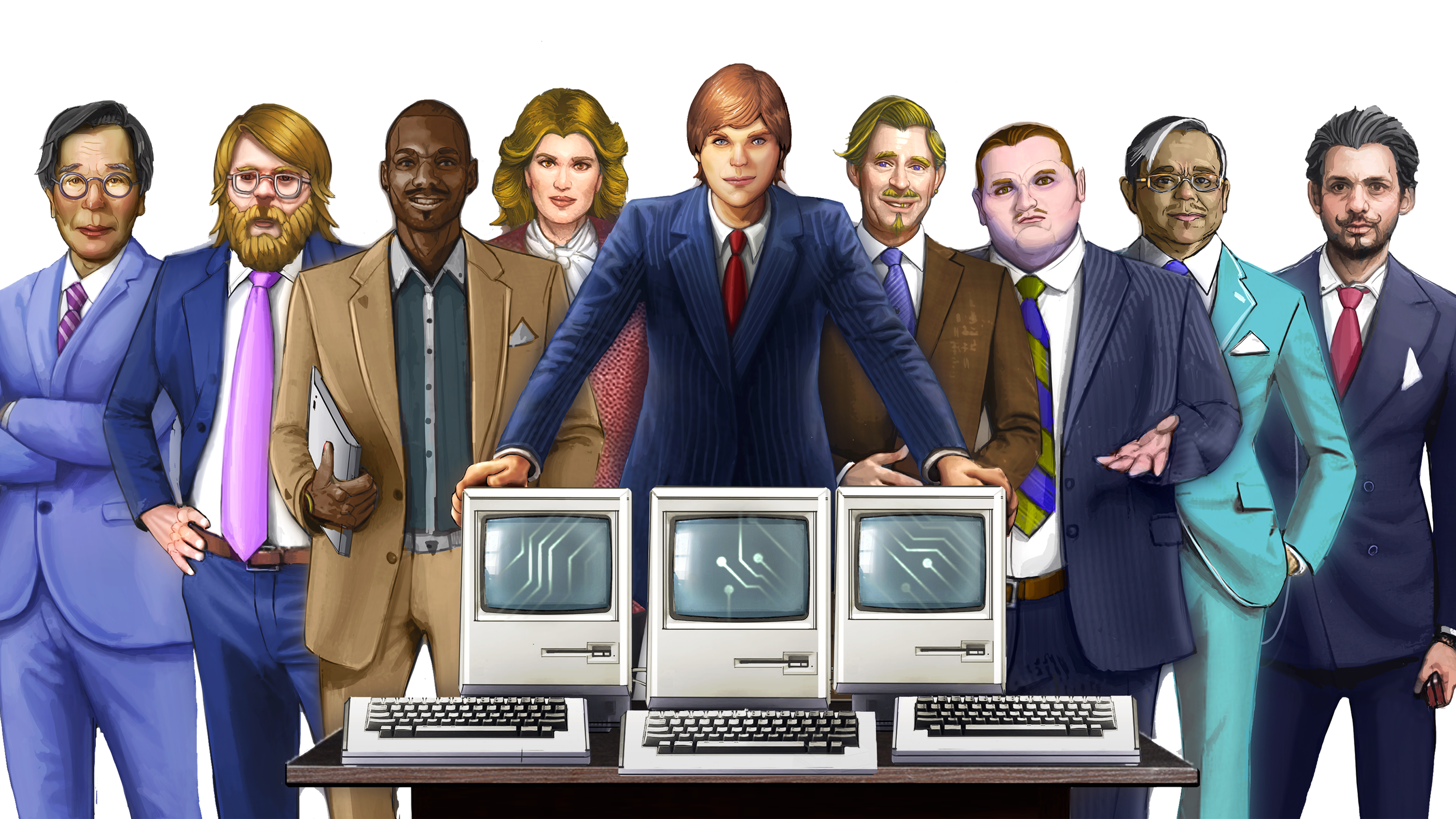 Computer Tycoon - Grand Strategy Management Game about Computer History.
