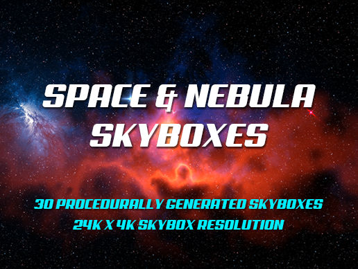 Space & Nebula Skyboxes