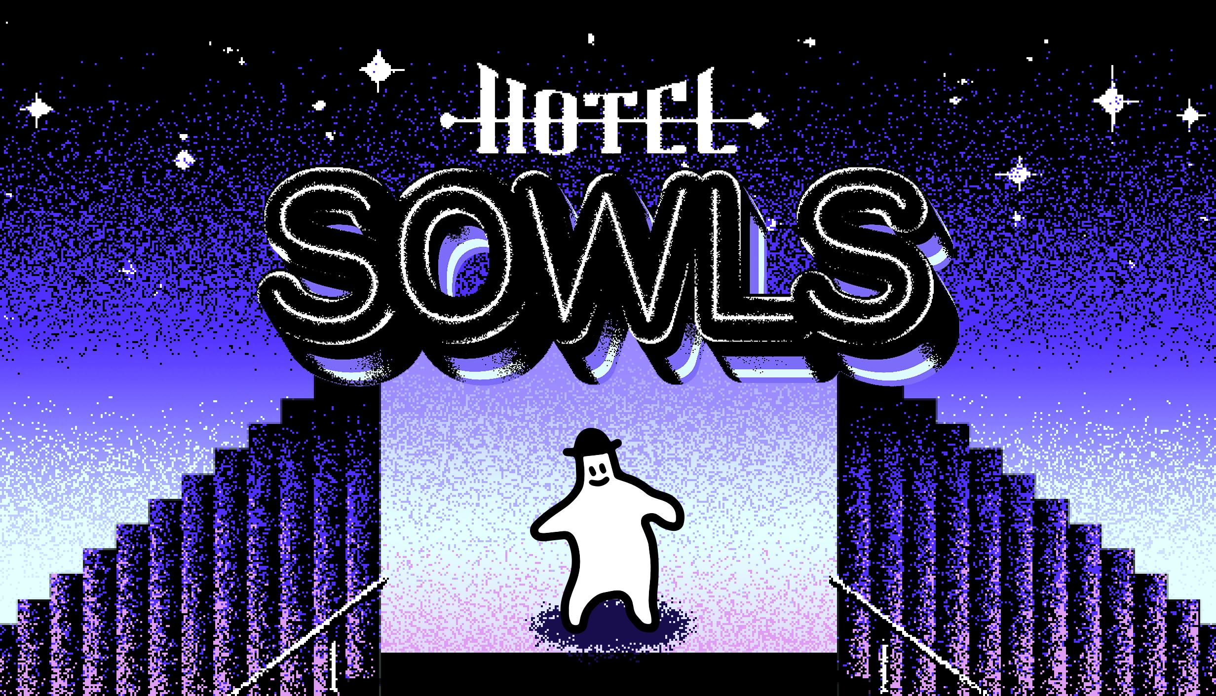독특한 2D그래픽의 미스테리 어드벤처 게임, <호텔 소울즈>