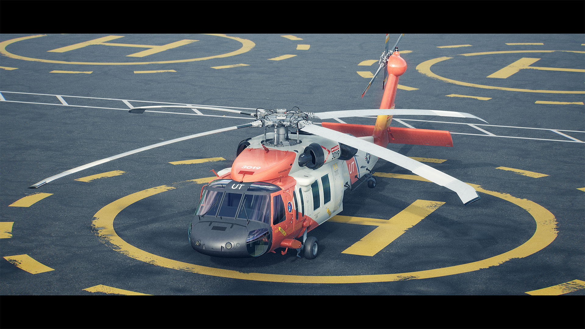 Sikorsky UH-60 | Real-Time Render
