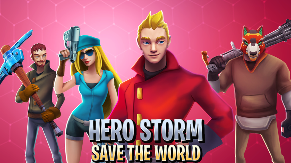 Hero Storm Save The World
