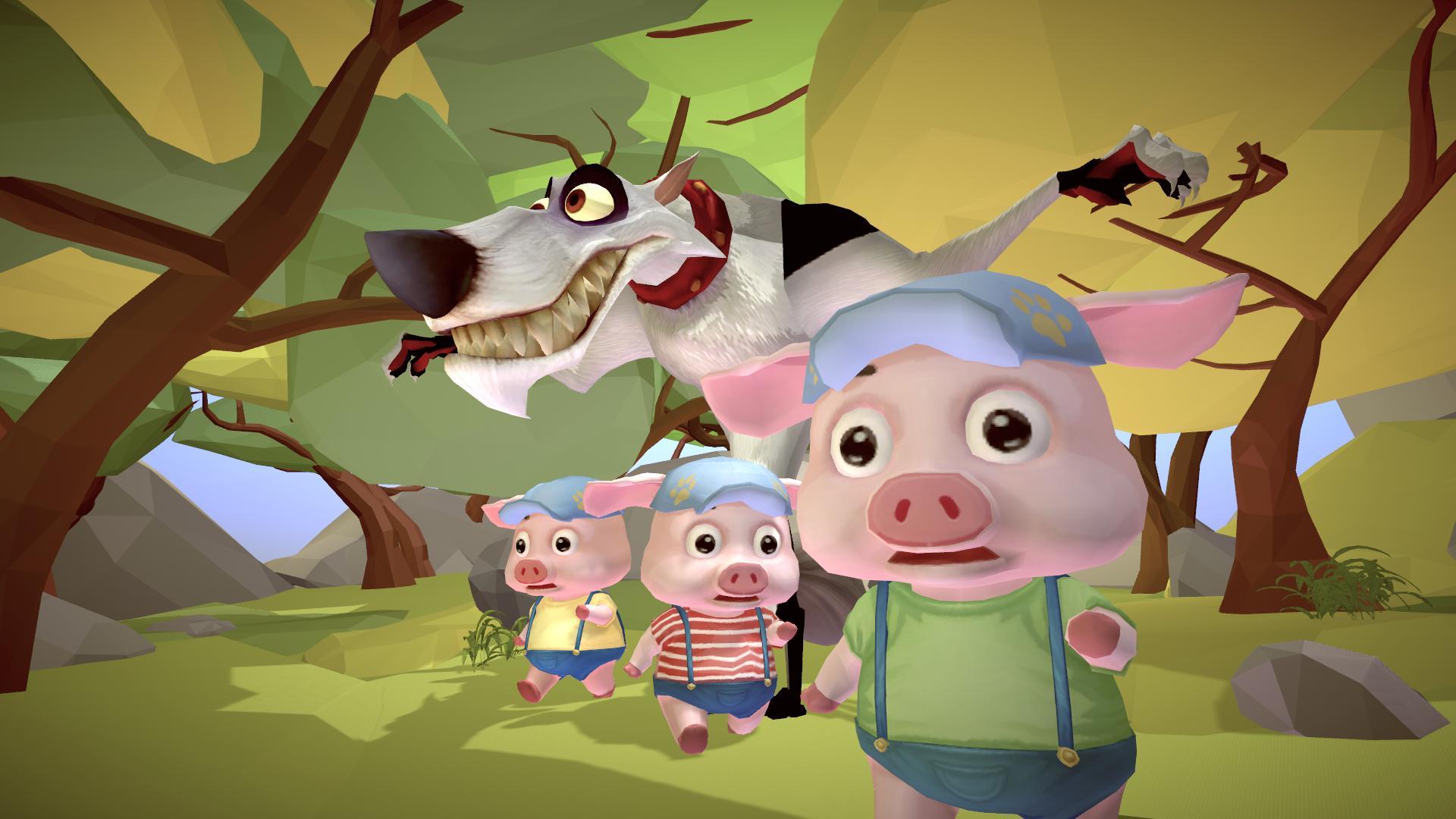 [MWU Korea 2019] AR Fairy Tale Book - the three pigs / FMA Lab