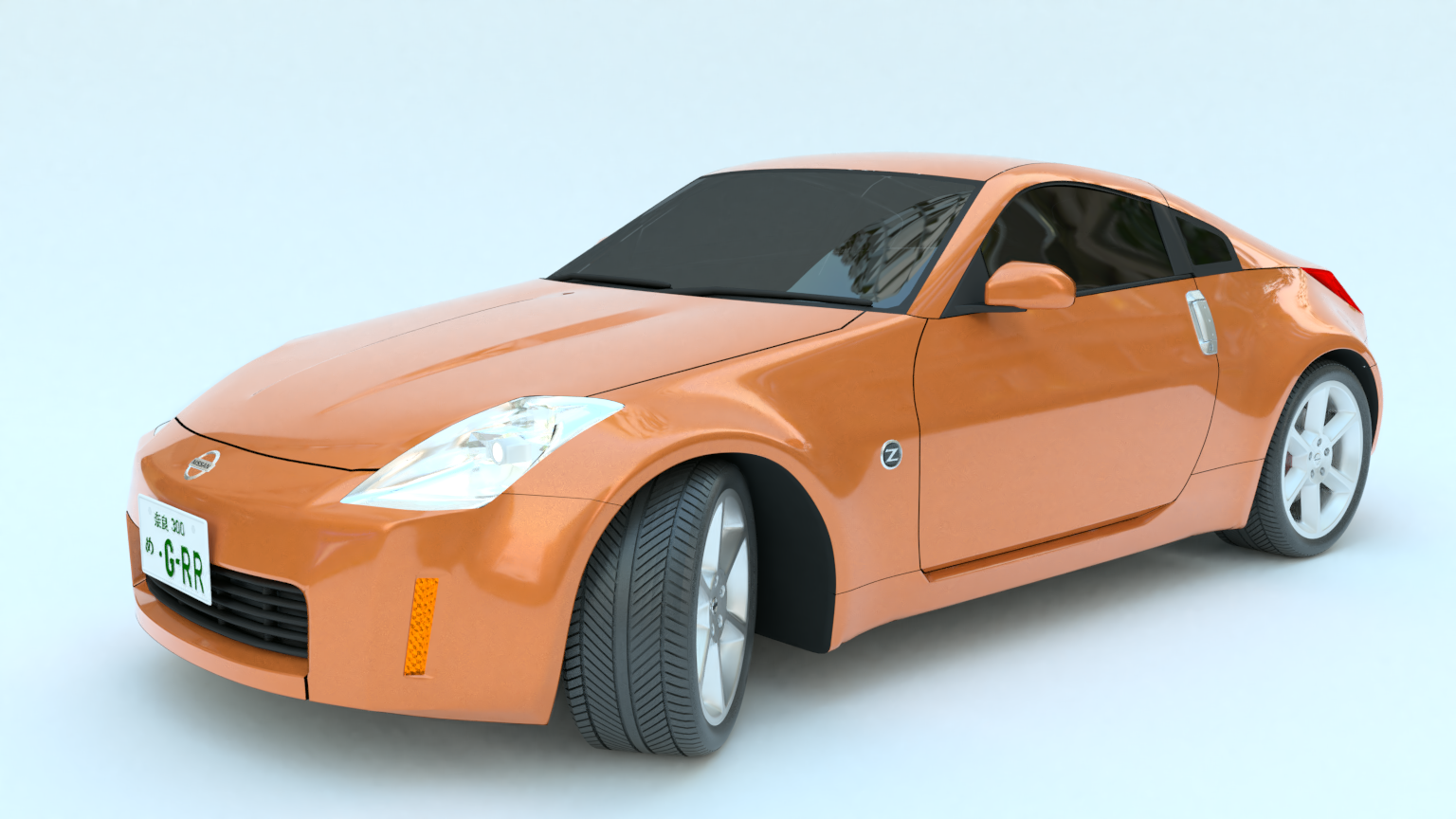 First try Car 3d model
