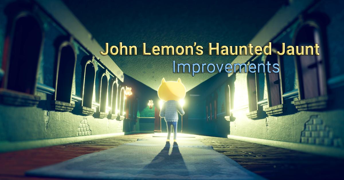 Next improvements
