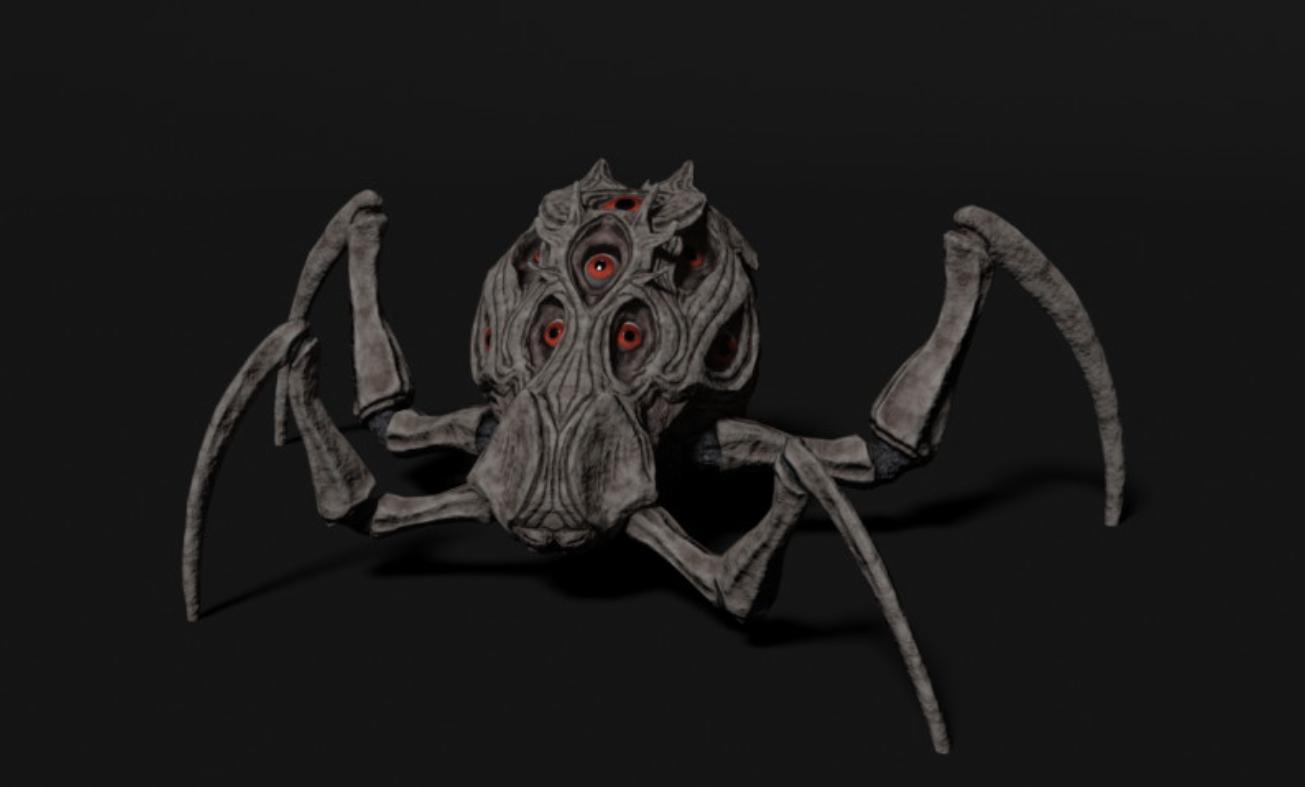 Eye Spider Model