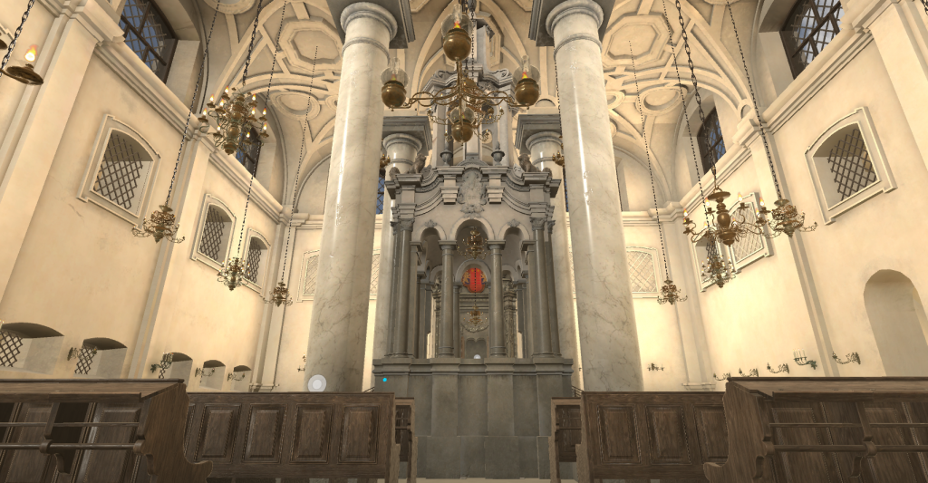 The Great Synagogue of Vilnius in VR