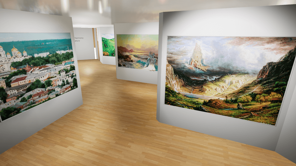 Art Gallery in VR