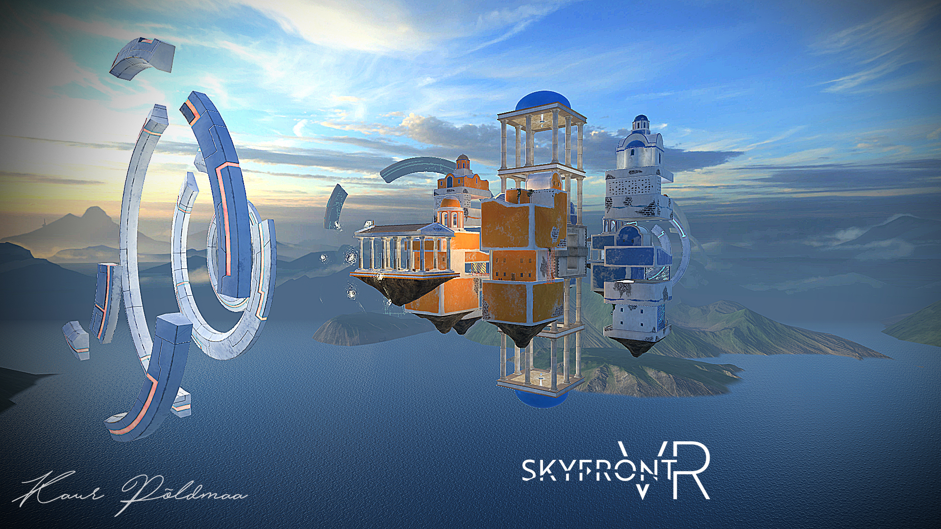 Skyfront VR - Polis Level Environment