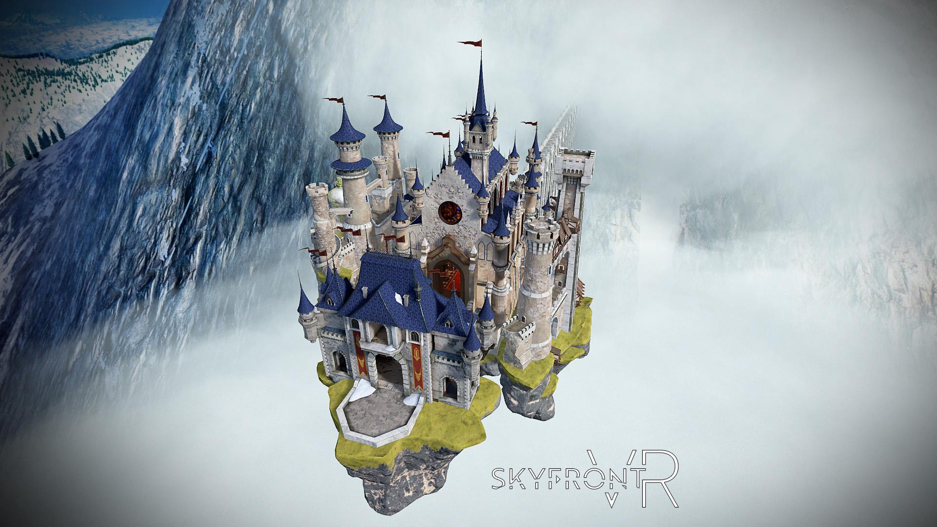 Skyfront VR - Medieval Level - Convent