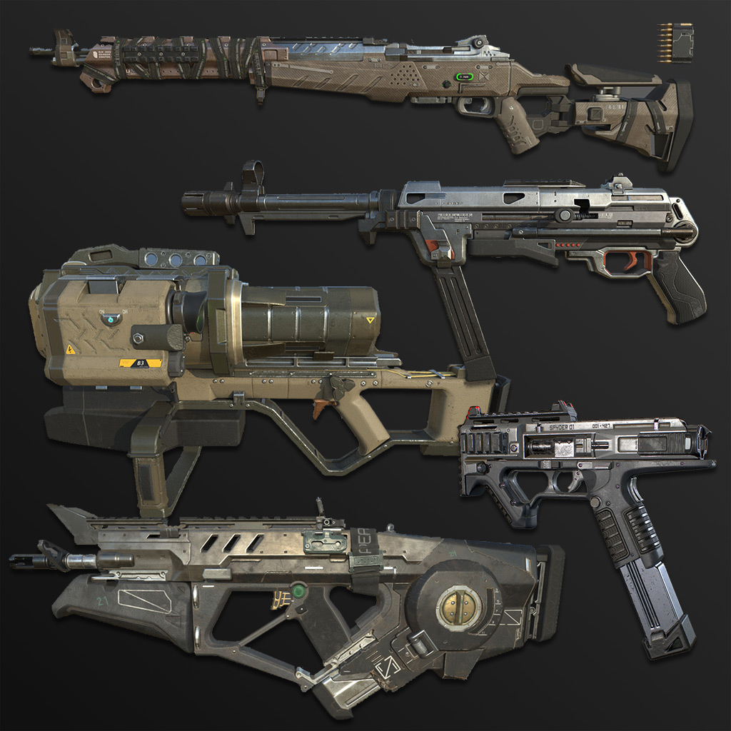 AAA Game Assets