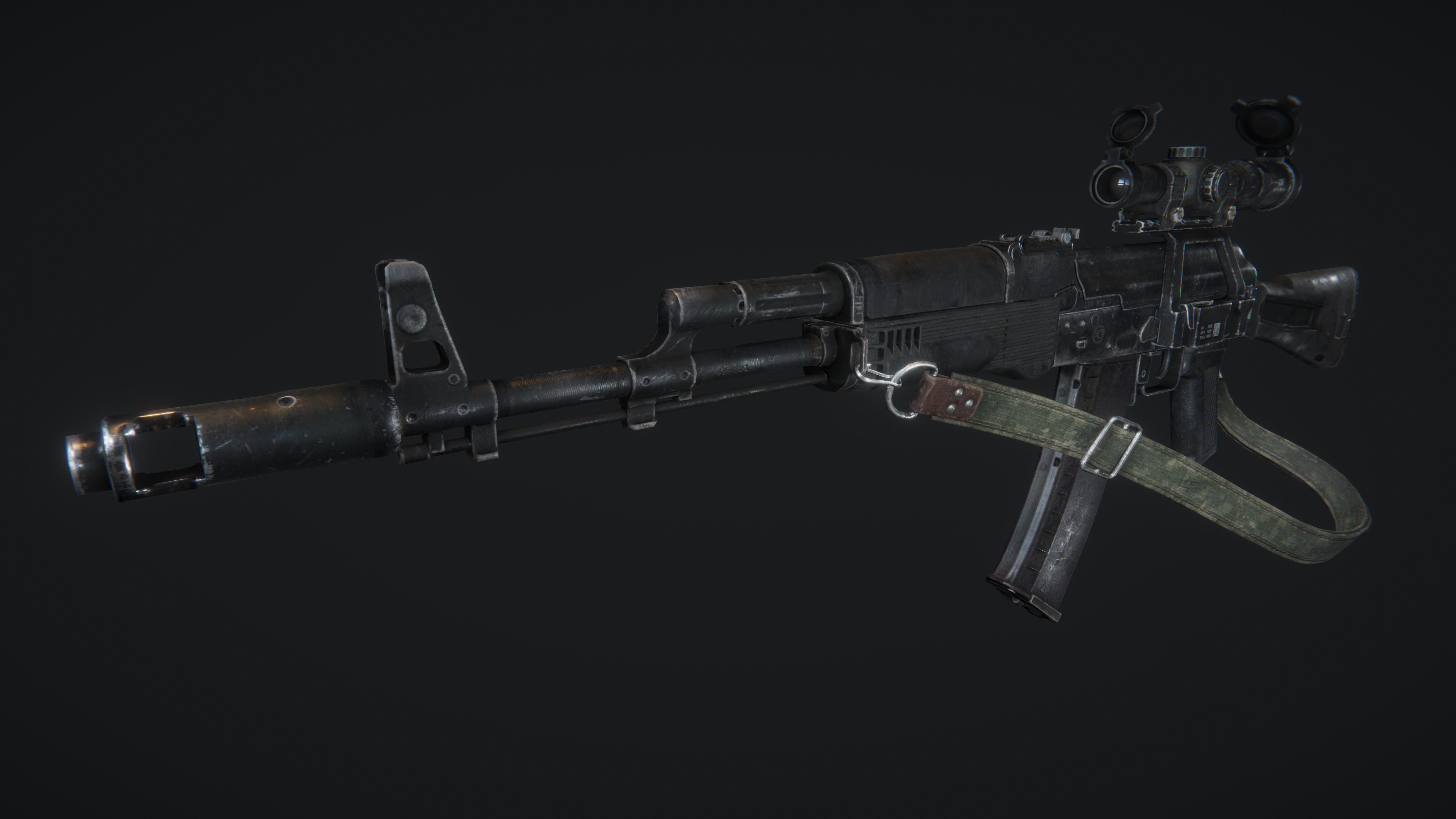 AAA AK74M Weapon