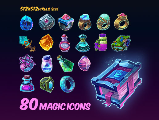 Magic Icons Pack 1
