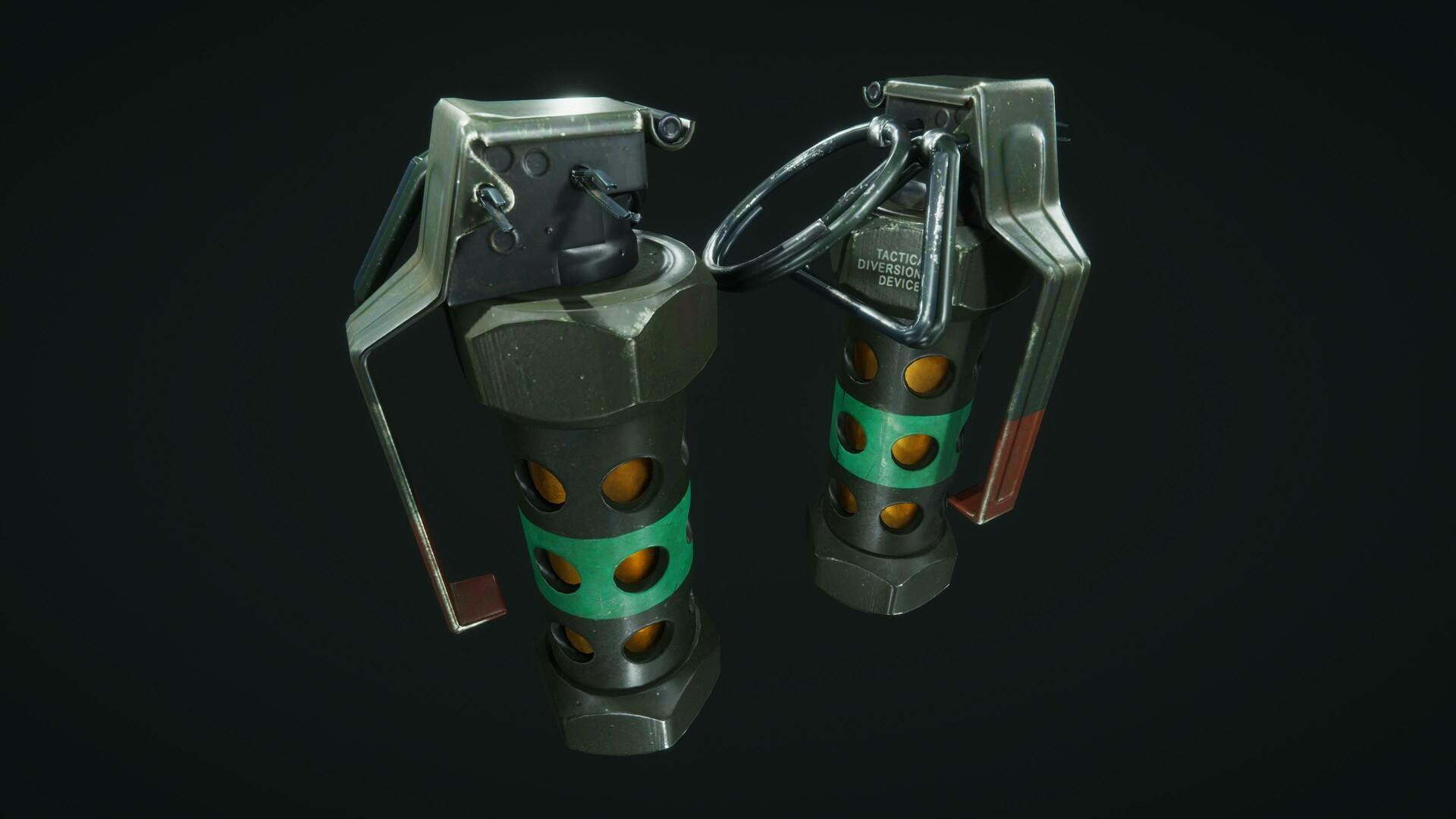 M84 Flash Grenade