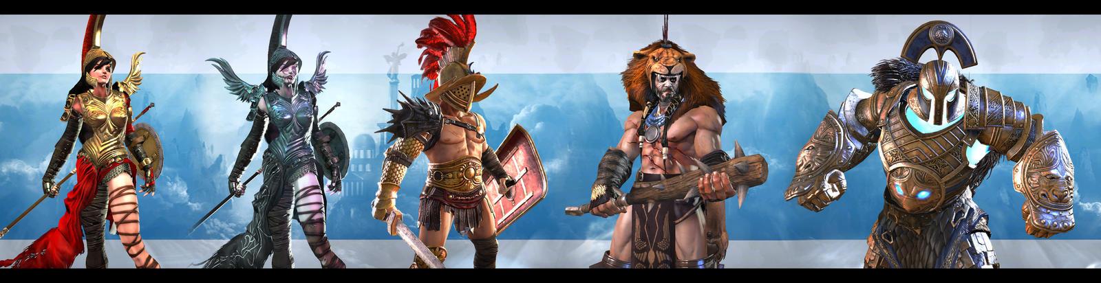 Gameloft's Gods of Rome