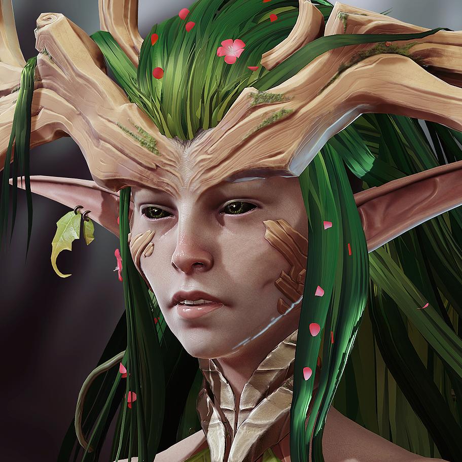 Mira, Wood elf assassin