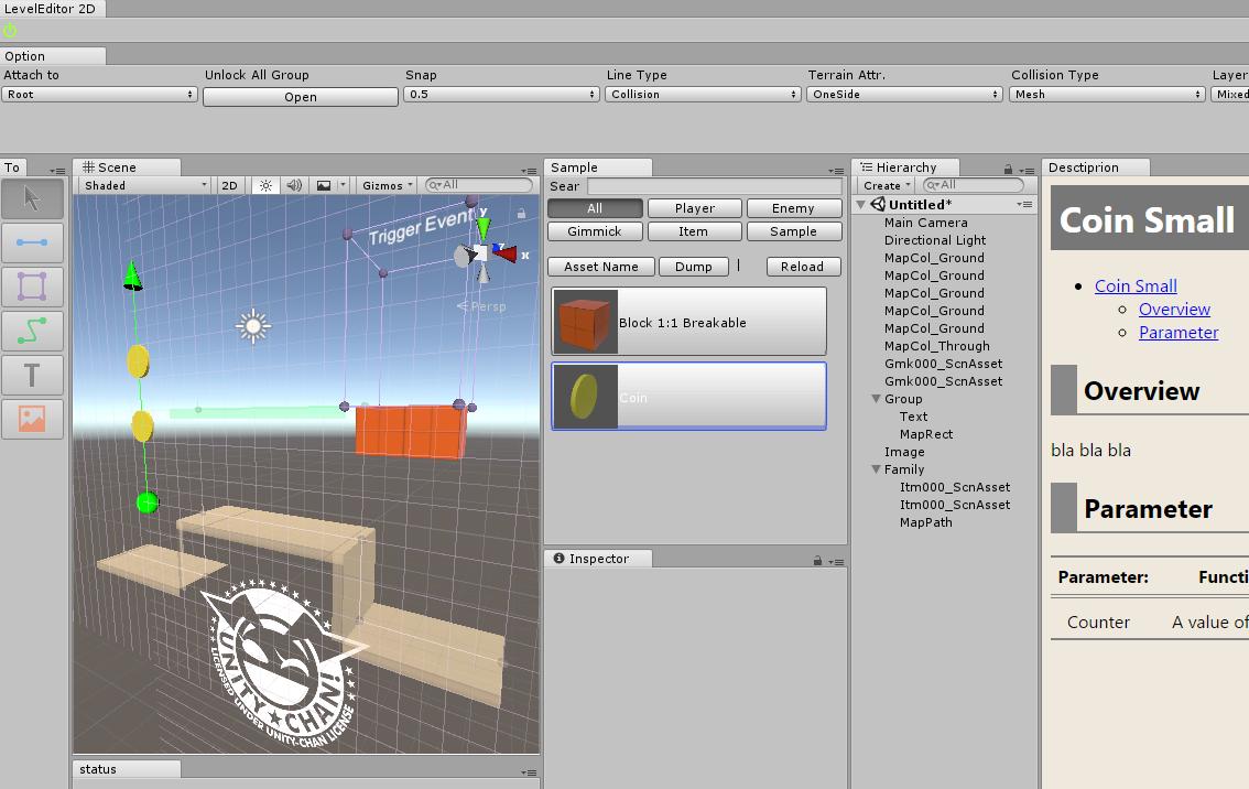 Line-based 2.5D Level Editor (in development)