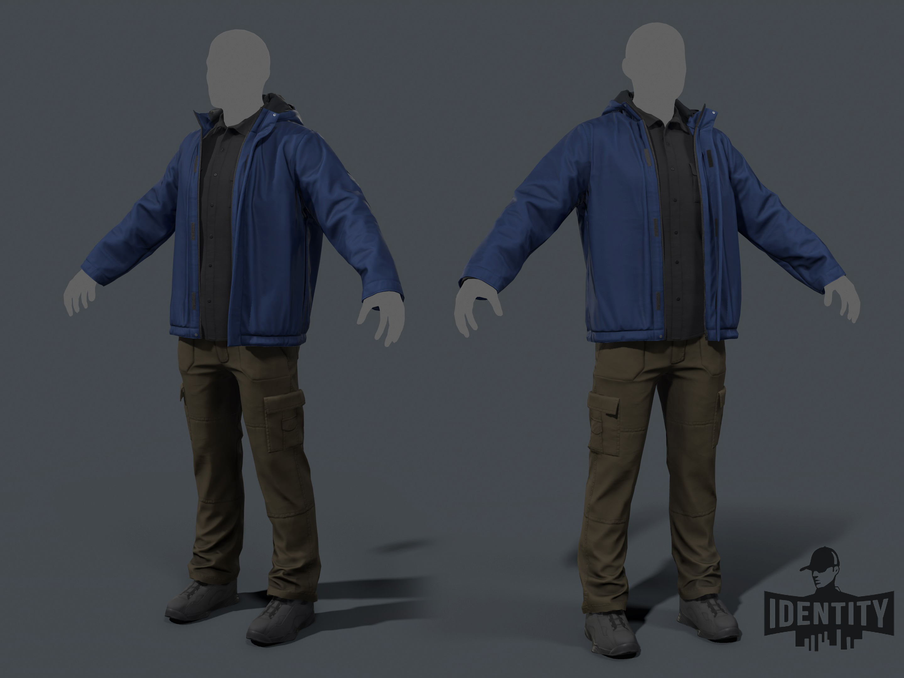 Clothing and furniture for Identity RPG