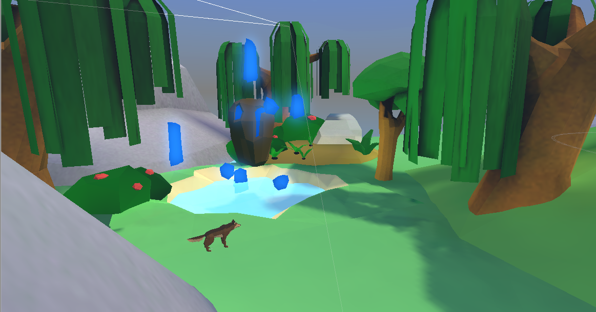Low Poly Forest Envierment