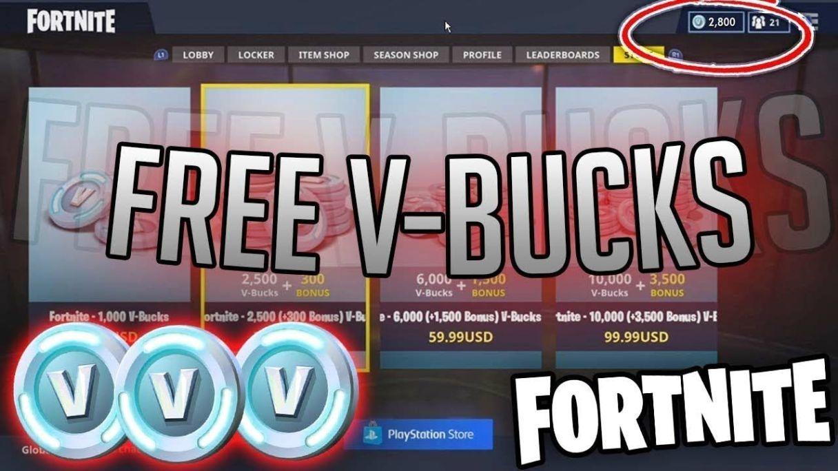 Kostenlose V Bucks Fortnite V Bucks Play - Danielarnoldfoundation org