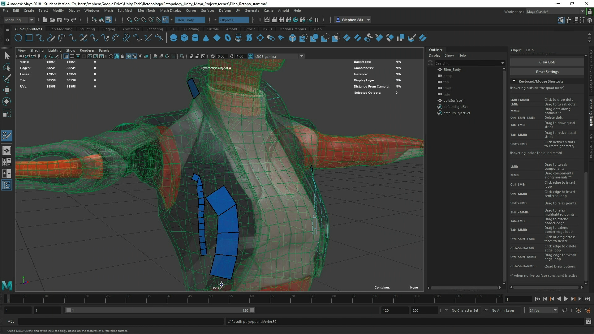 Retopology Best Practices in Maya for Unity - Unity Learn