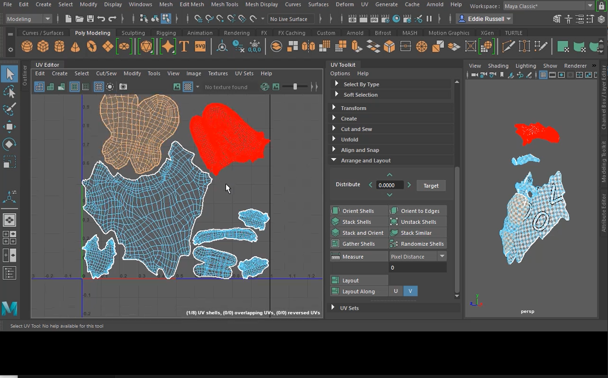 UV Mapping Game Characters in Maya - Unity Learn