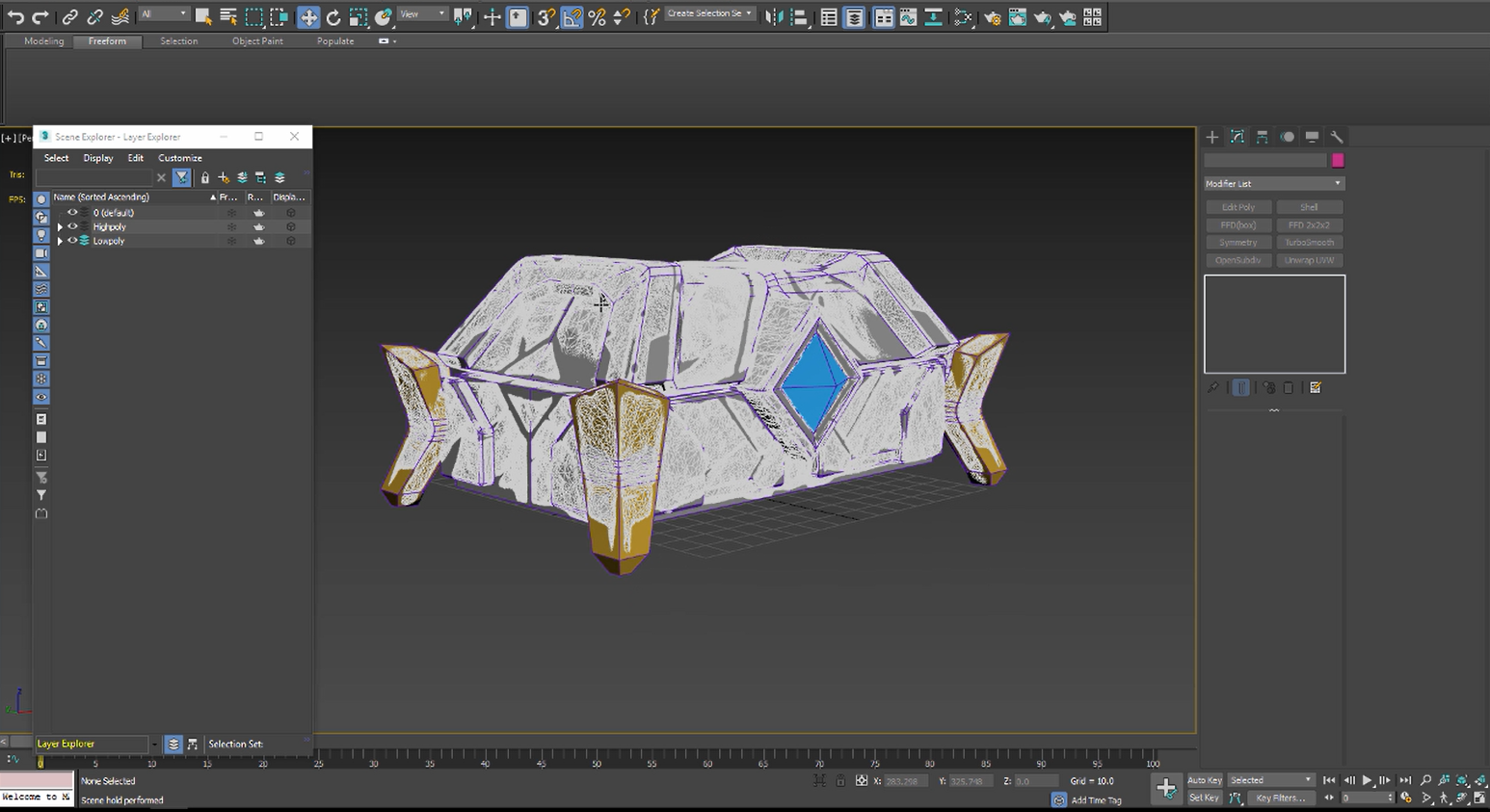 Building the Low Poly Model - Part 1 - Unity Learn