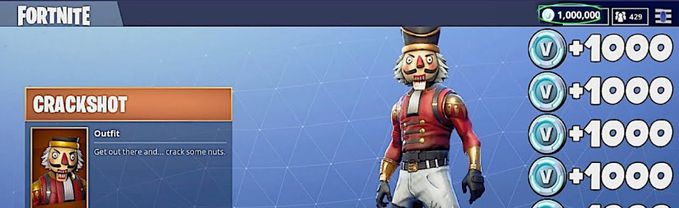 Crackshot Fortnite Minecraft Skin Free V Bucks Working