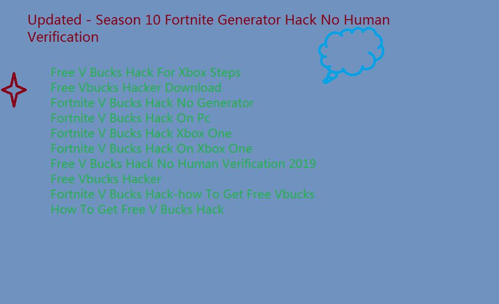 Fortnite V Buck Hack Ps4 No Human Verification No Survey Mark