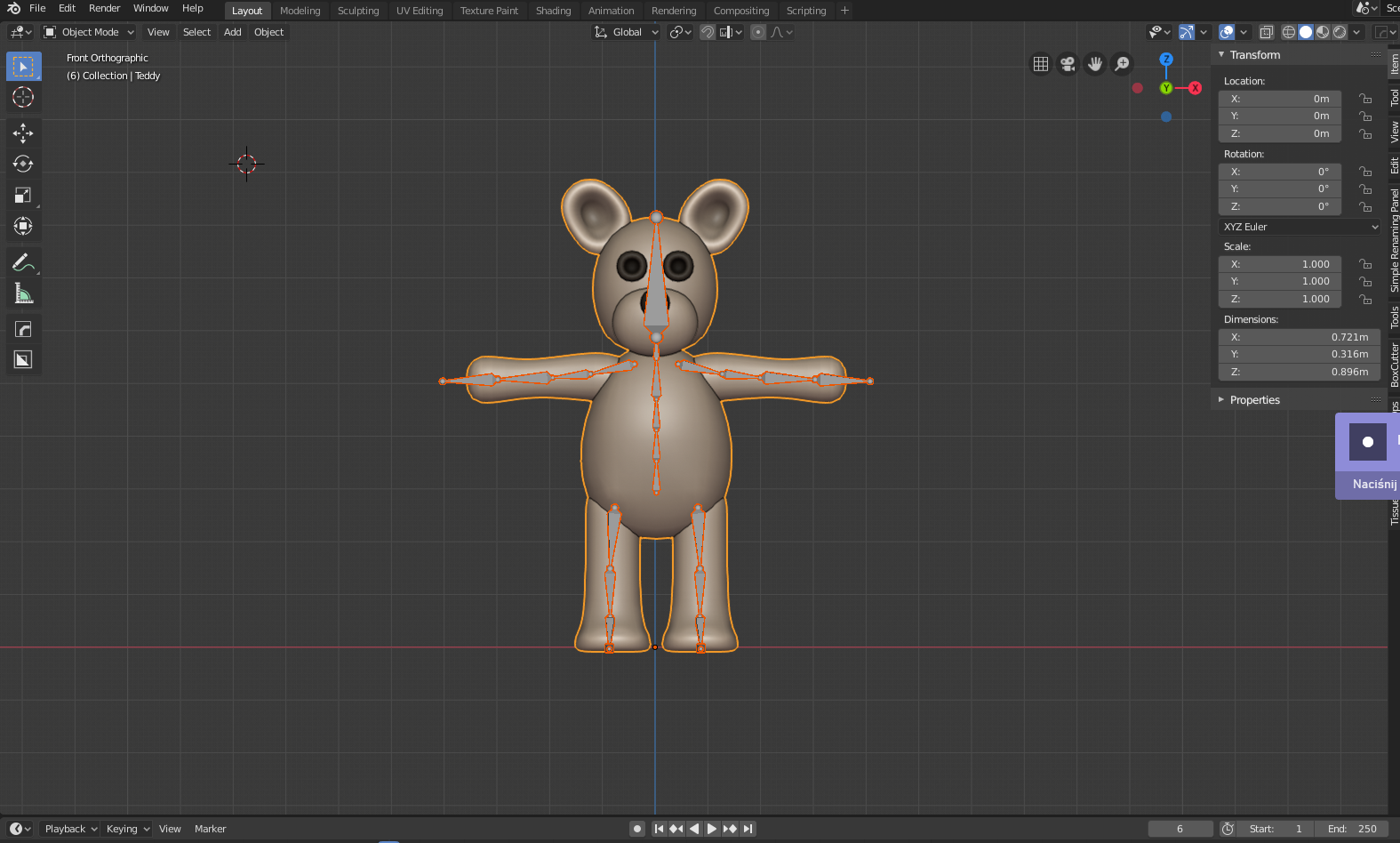 Animation Retargeting retargeting animations with blender 2.80 - unity connect