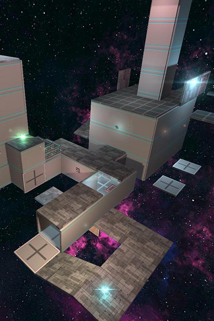 Screenshot 1: Fractal Space
