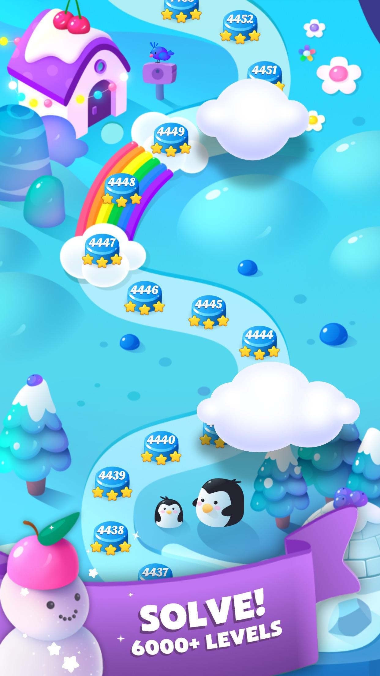 Screenshot 4: Fruit Blast Saga - Candy, Toon, Toy Crush & Match