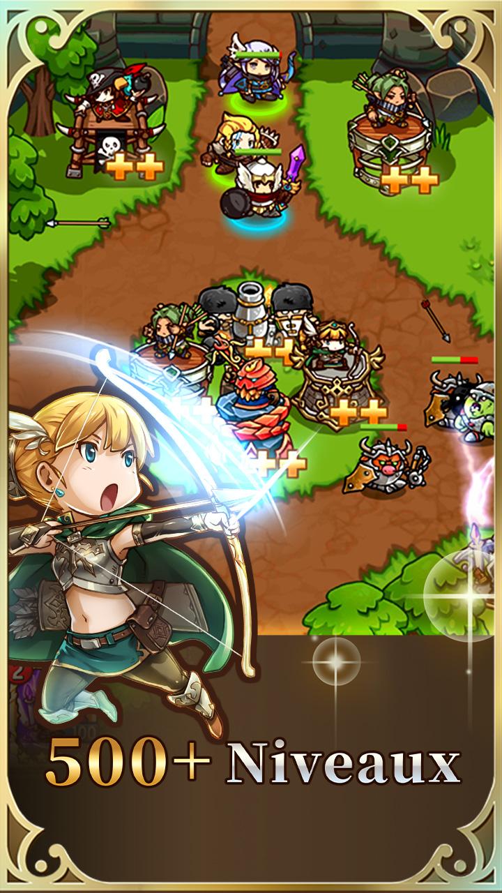 Screenshot 2: Crazy Defense Heroes