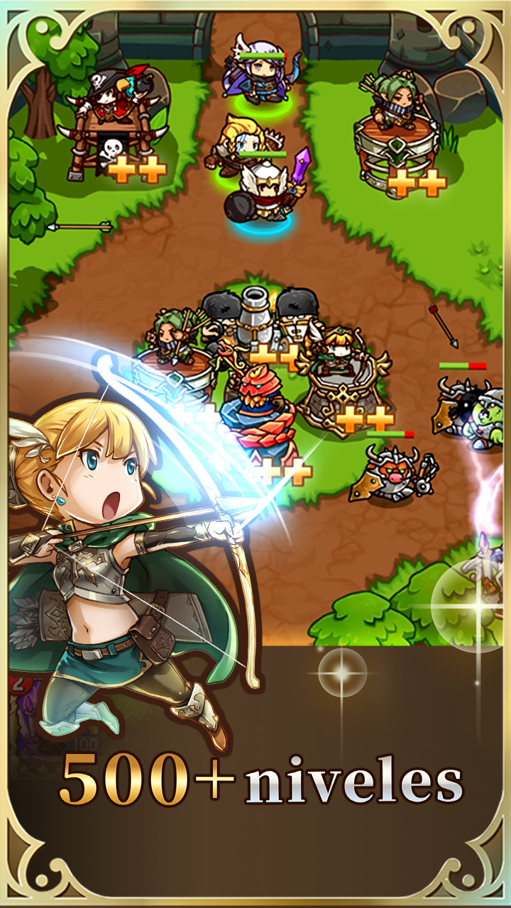 Screenshot 3: Crazy Defense Heroes