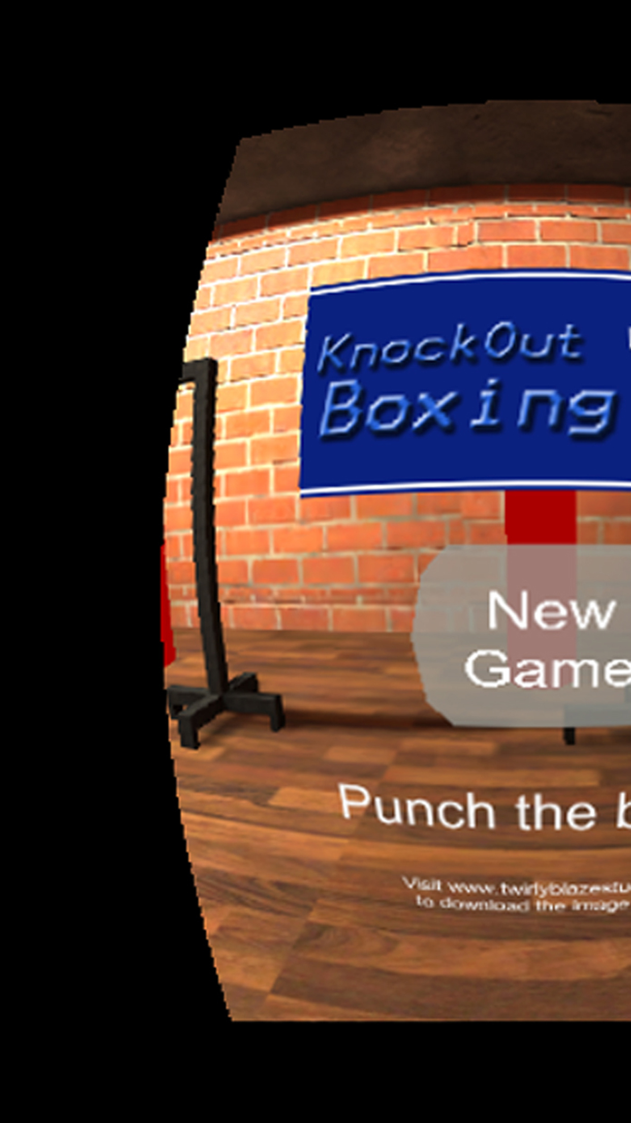 Screenshot 1: Knockout Boxing VR