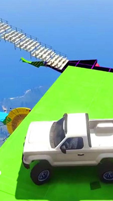Screenshot 3: Mega Ramp Pickup Truck