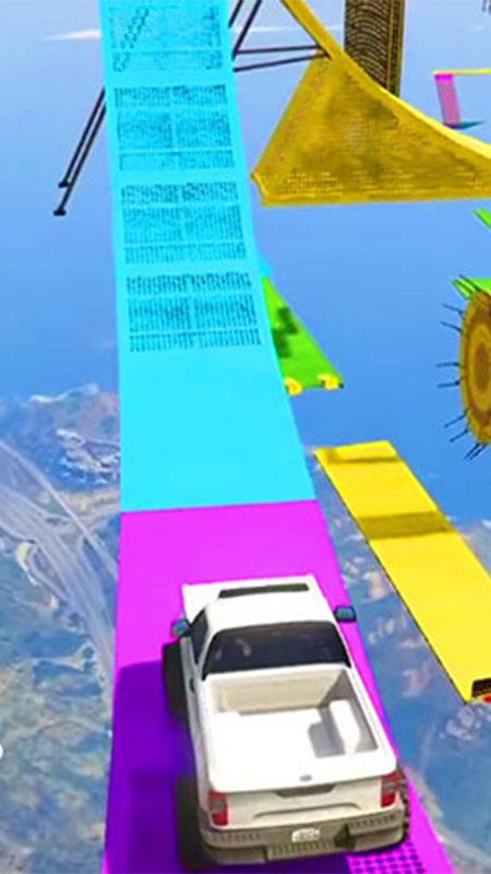 Screenshot 2: Mega Ramp Pickup Truck