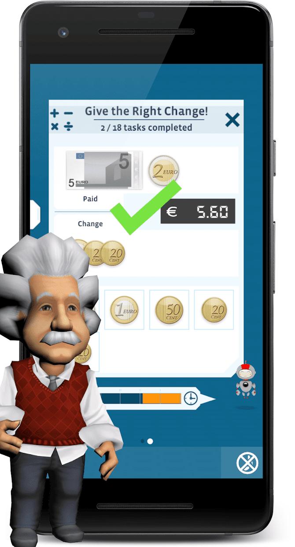 Screenshot 3: 愛因斯坦腦力強化訓練