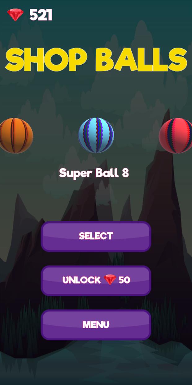 Screenshot 3: Super Helix Jumping Ball