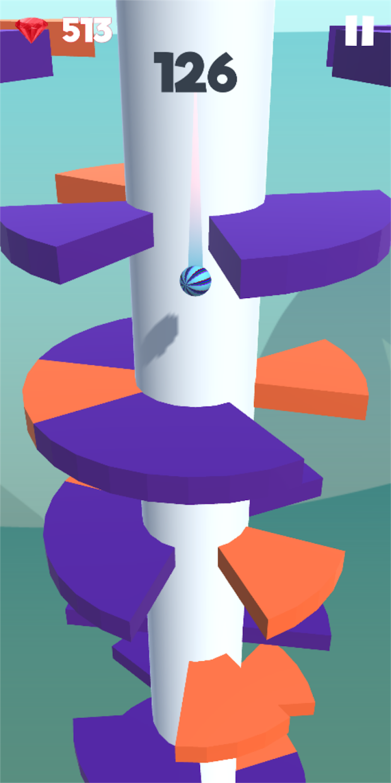 Screenshot 4: Super Helix Jumping Ball